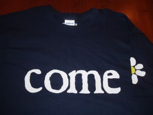 MENS RETRO JAMES `COME HOME` T-SHIRT